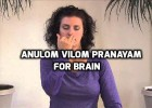 Anulom vilom pranayam for brain