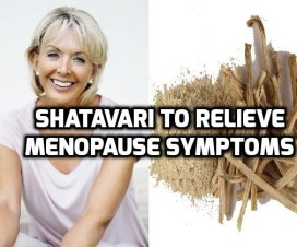 Shatavari to relieve menopause symptoms