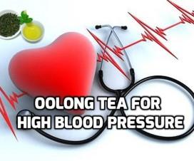 Oolong tea for High blood pressure hypertension