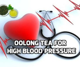 Oolong tea for High blood pressure hypertension
