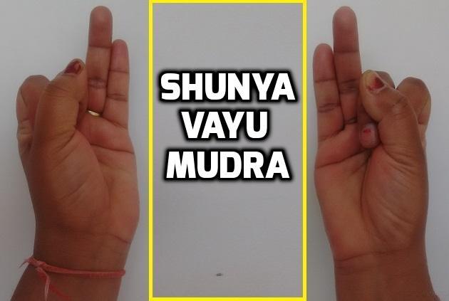 Shunya Vayu Mudra benefits