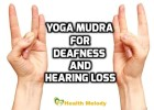 Shunya mudra for Deafness and Hearing loss
