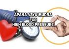 Apana Vayu Mudra for blood circulation and blood pressure