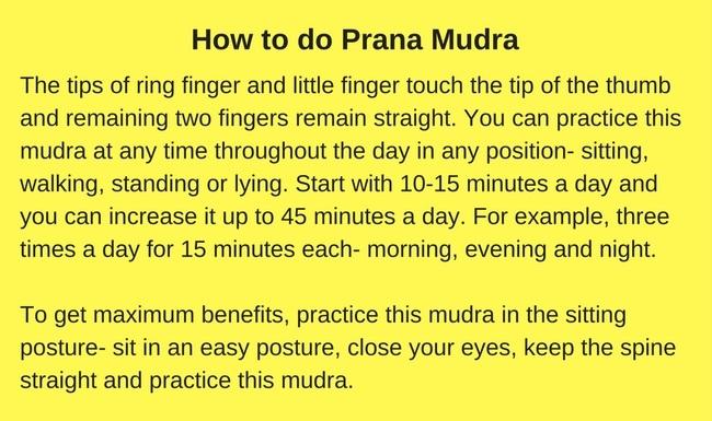 Prana mudra root chakra muladhara