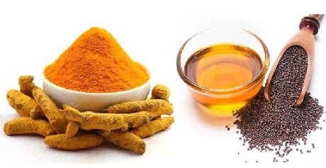 Turmeric powder Mustard oil Vitiligo Leucoderma
