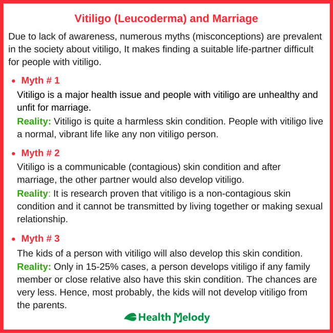 Vitiligo Leucoderma Marriage Problems