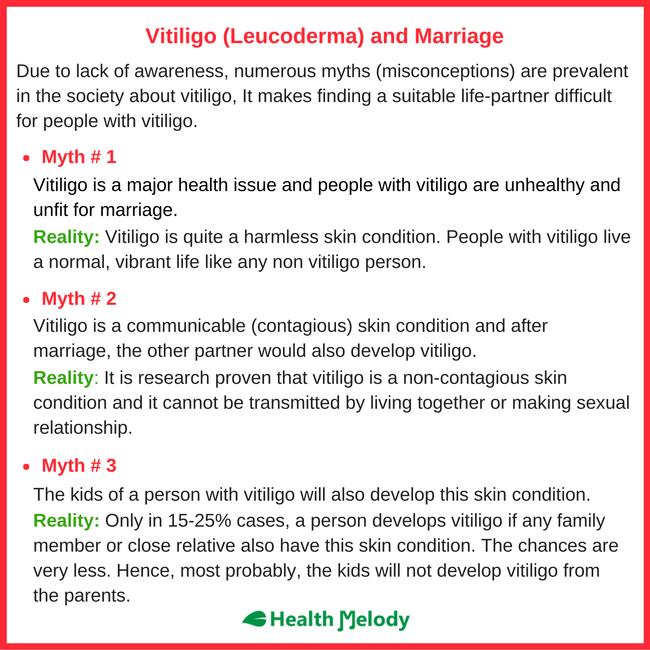 Vitiligo Leucoderma Marriage Problems