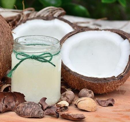 Cold pressed virgin coconut oil Vitiligo white spots treatment