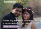 Derma Matrimony Vitiligo Leucoderma Matrimony brides grooms