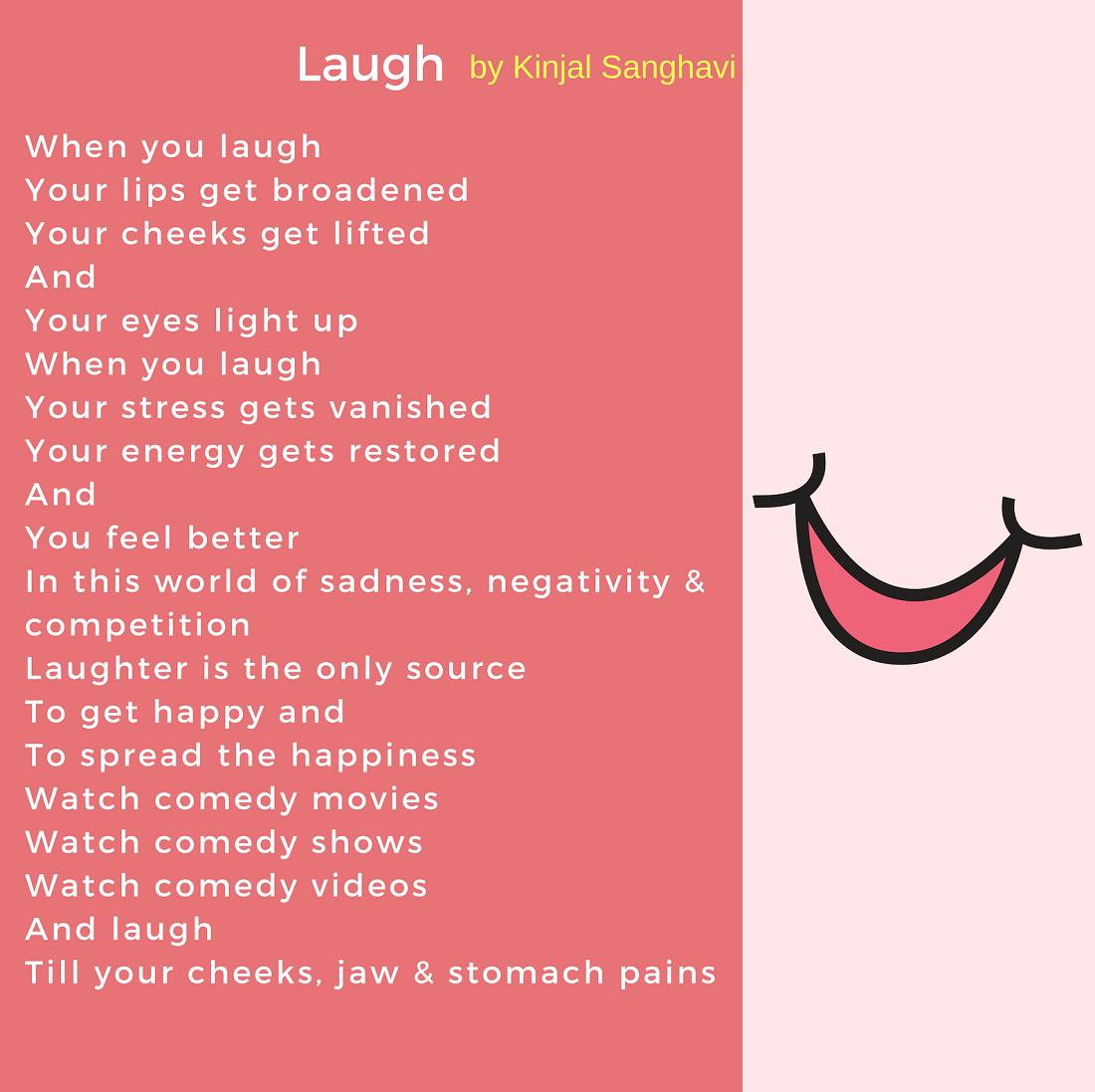 Laugh Vitiligo Poem Kinjal Sanghavi