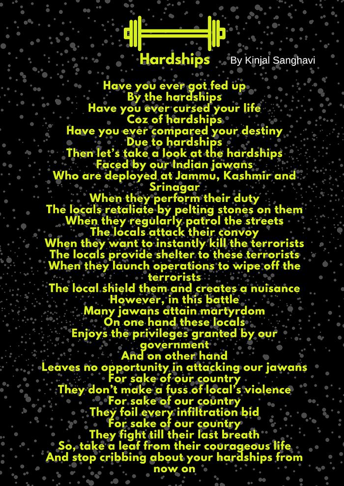 Vitiligo poem Hardships Kinjal Sanghavi