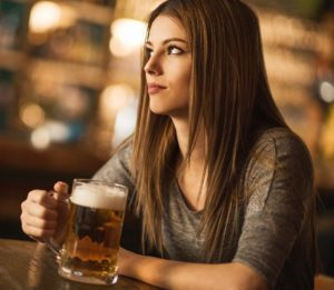 Vitiligo white spots alcohol beer